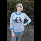 Thumb bird sweater 3
