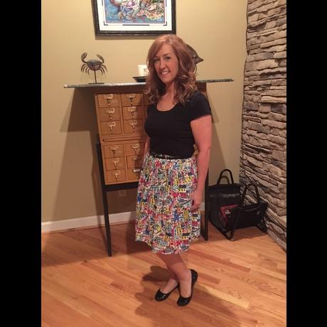 Lightbox le tote skirt