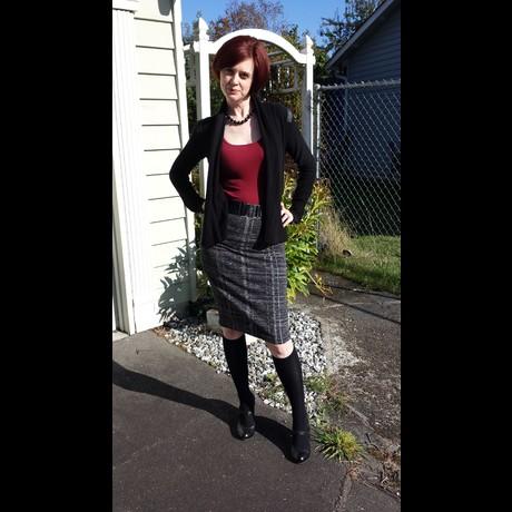 Lightbox sparkly skirt