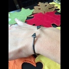 Thumb triangle bracelet