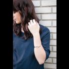 Thumb rebecca minkoff pave triangle hinge bracelet