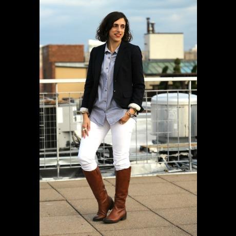 Lightbox schoolboy blazer letote blouse