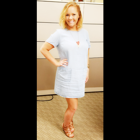 Lightbox jean dress