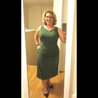 Thumb green dress