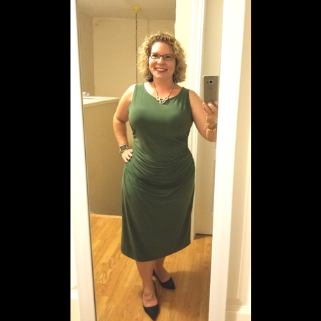Lightbox green dress