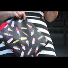 Thumb le tote striped dress ice cream clutch20