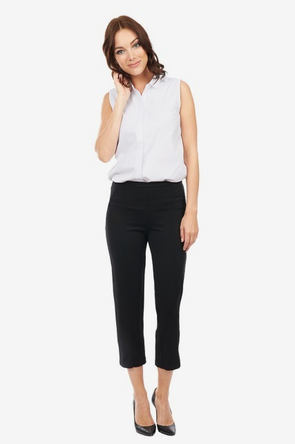 Cropped Ponte Trouser