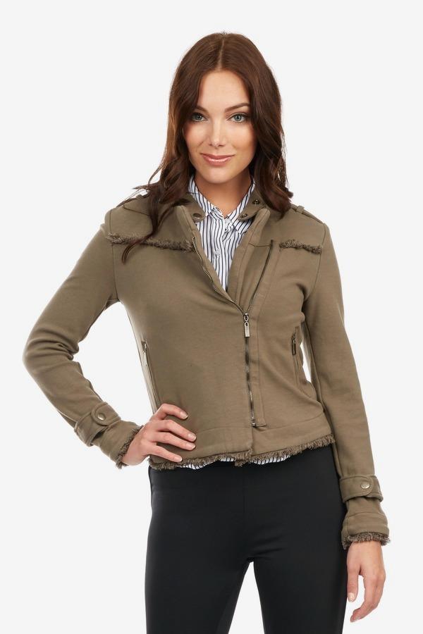 Fringe Military Jacket