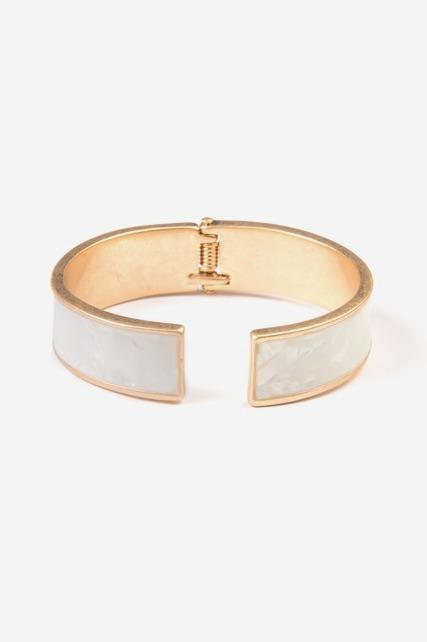 Shell Hinge Bracelet