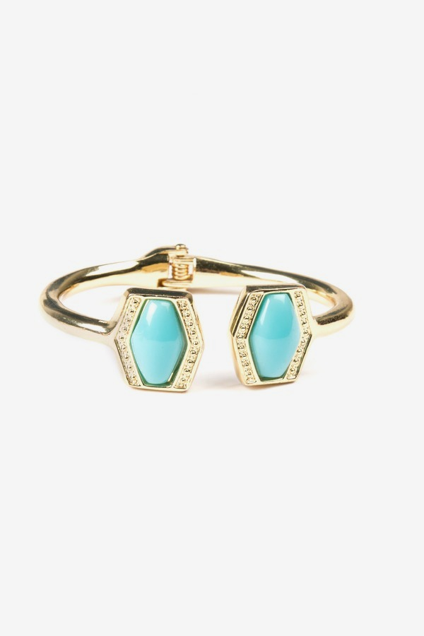 Turquoise T Cuff