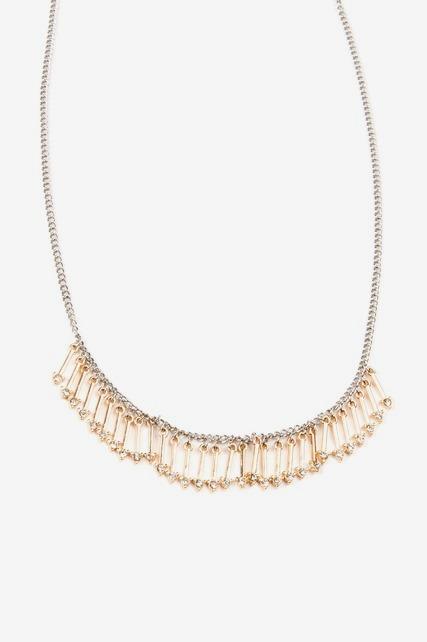 Arrow Mini Bib Necklace