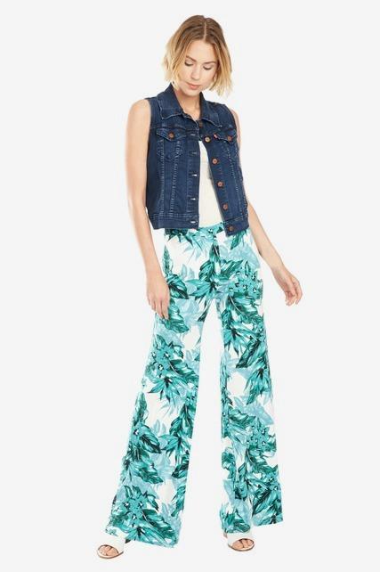 Palm Leaf Pant