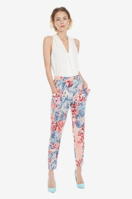 Printed Trouser Pant