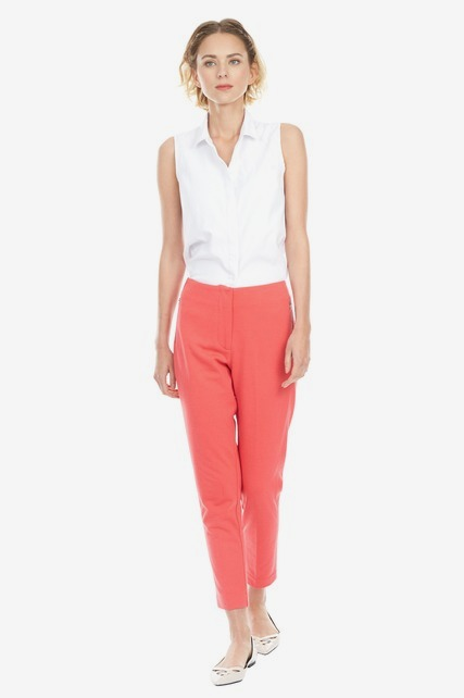 Bright Zipper Pant