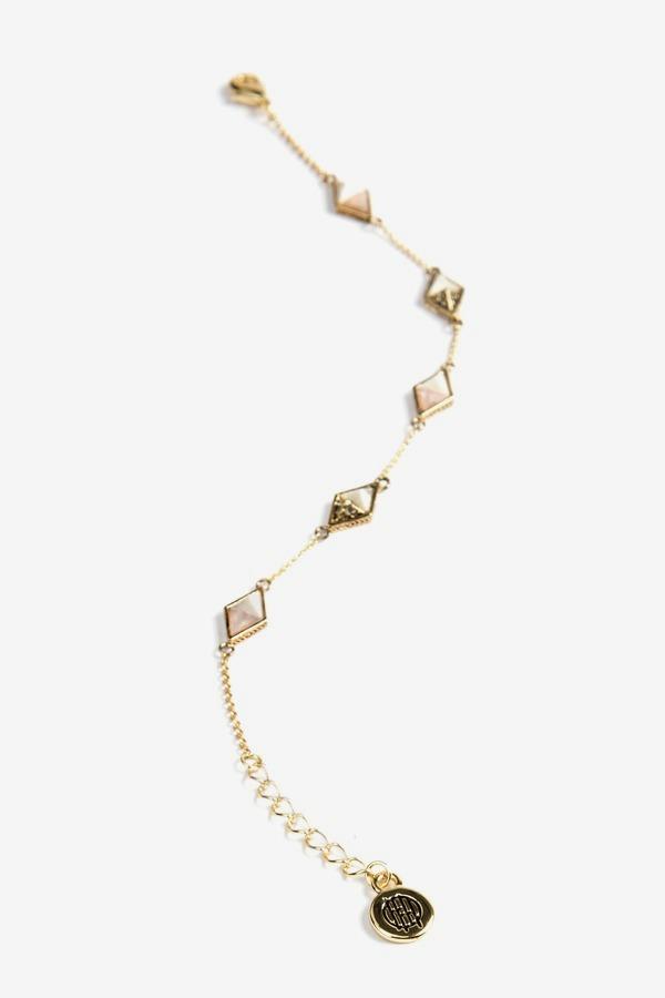 Prism Stone Bracelet