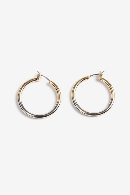 Ombre Dipped Hoop Earring