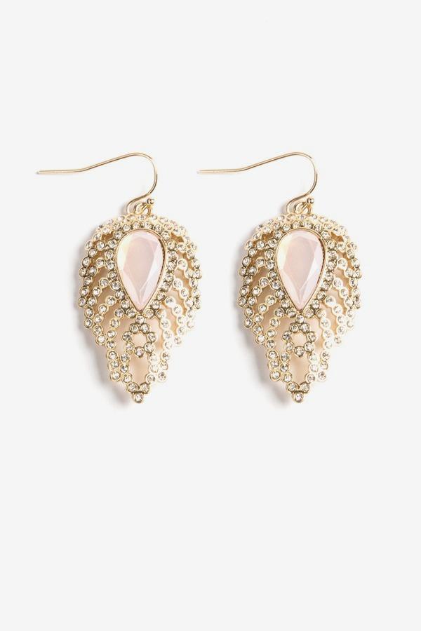 Rosewater Drop Earrings