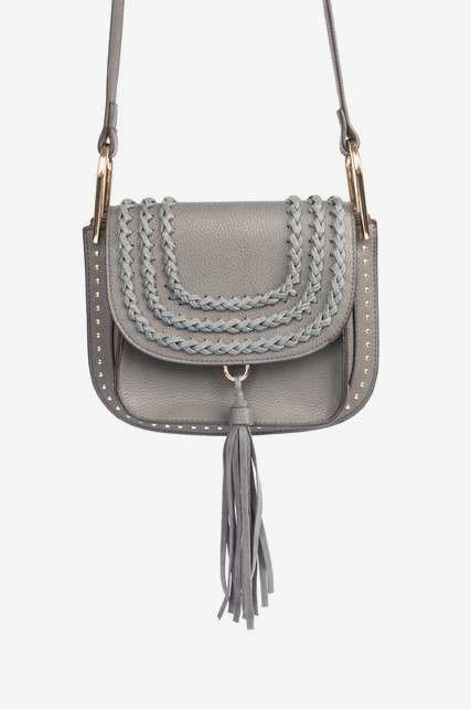 Braided Tassel Crossbody