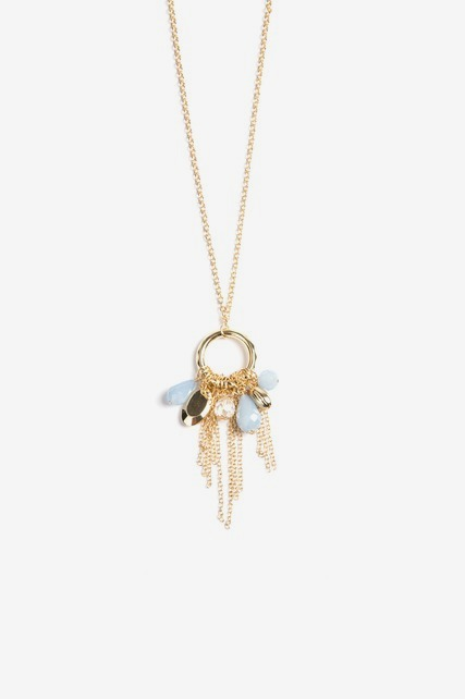 Tassel Charm Necklace