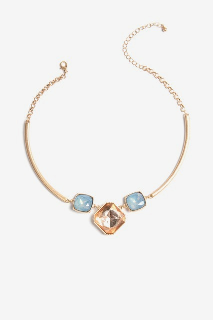 Tri Stone Collar