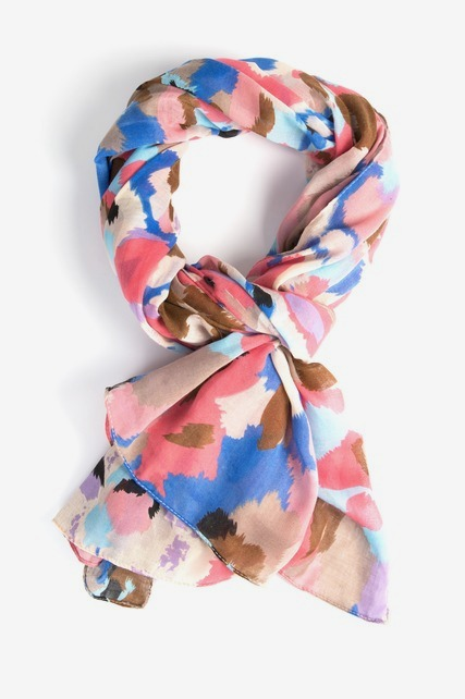 Whispy Floral Scarf
