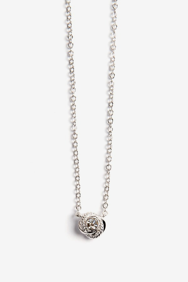 Knot Sparkle Mini Pendant