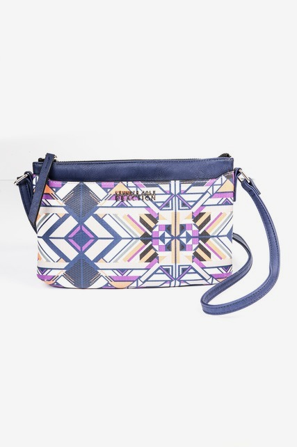 Abstract Geo Crossbody