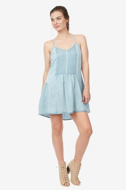 Tencel Pintuck Dress
