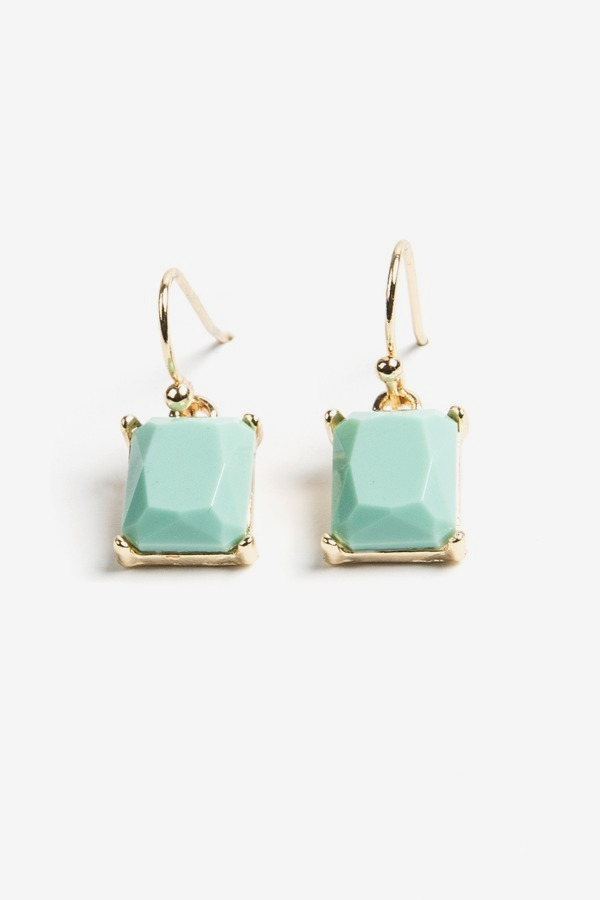 Turq Drop Earrings