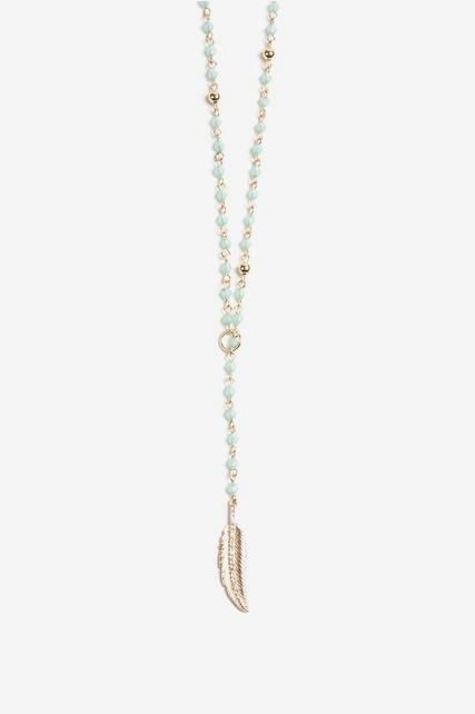 Beaded Y-Necklace