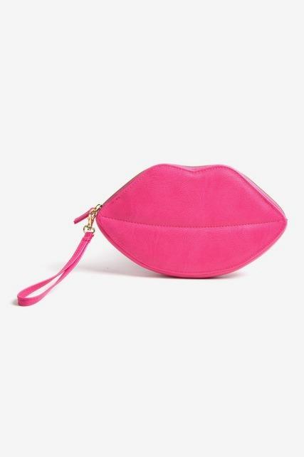 Lips Wristlet