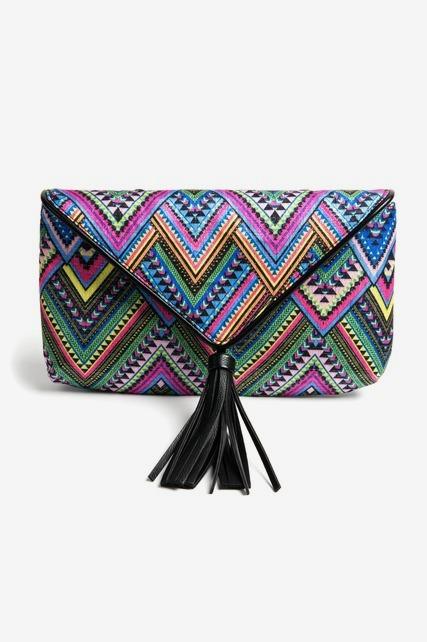 Chevron Woven Bag