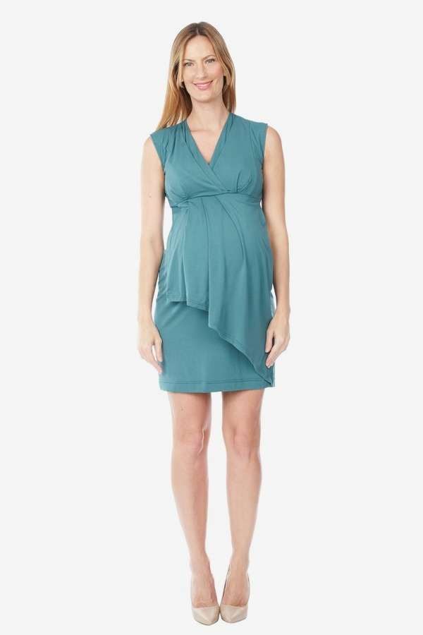 Overlay Wrap Dress