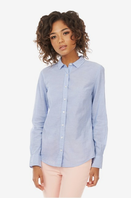 Classic Fitted Button Up Shirt