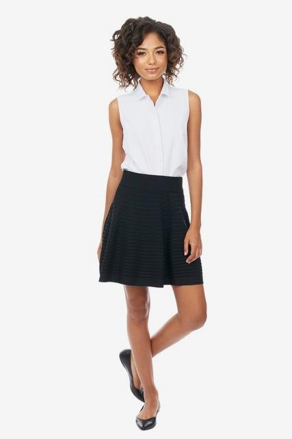 Knit Rib Mini Skirt