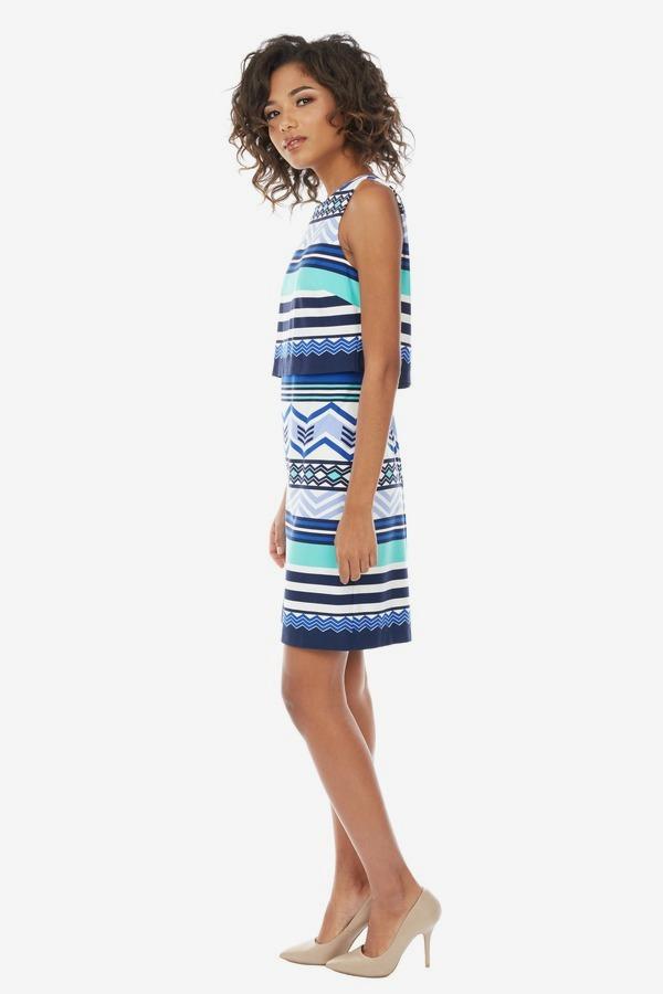 Printed Popover Dress