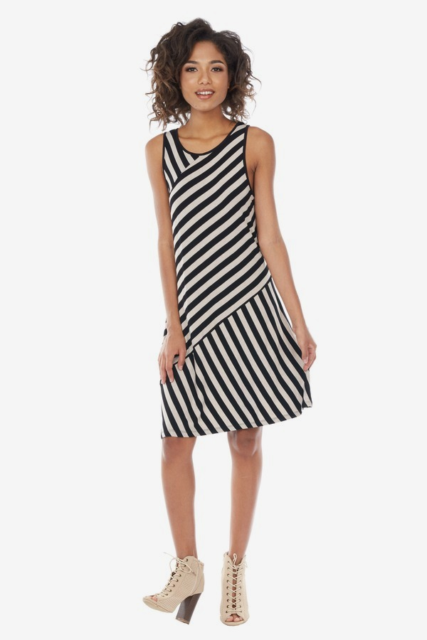 Lightweight Stripe Dress