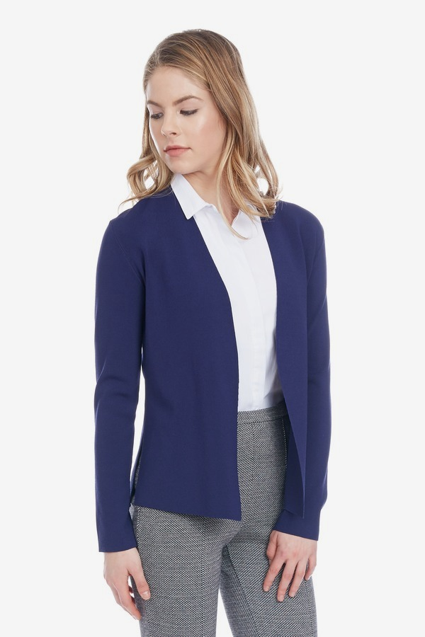 Open Front Sweater Blazer