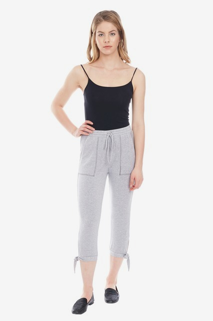 Side Tie Jogger Pants