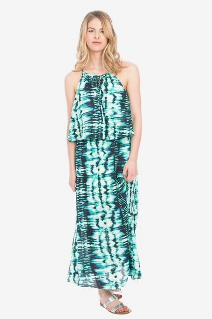Double Layer Woven Maxi