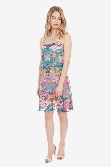 Bubble Overlay Dress