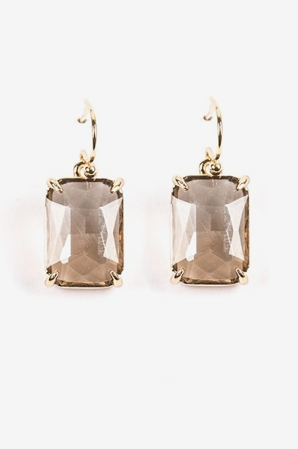 Cushion Drop Earring