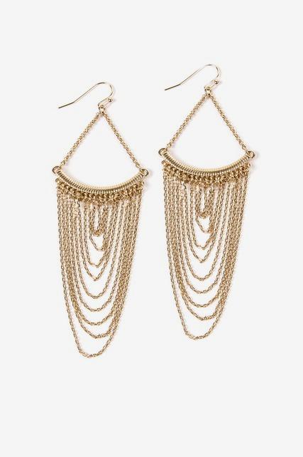 Chain Chandelier Earring