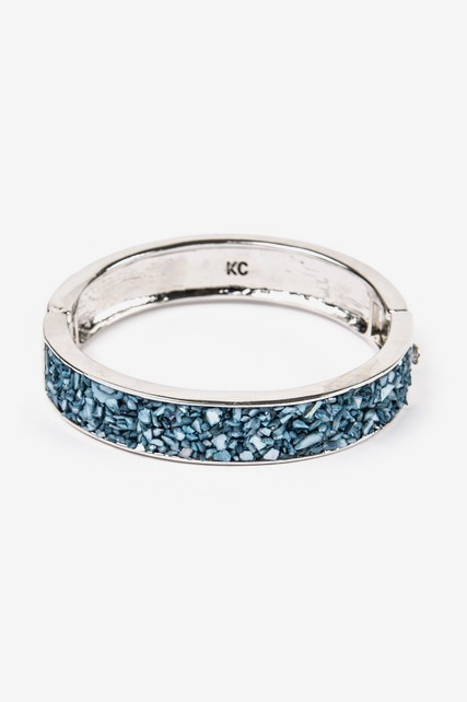 Crushed Stone Bangle