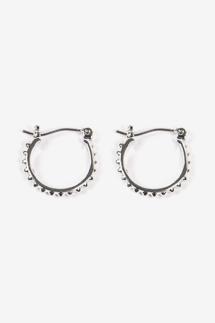 Mini Studded Hoop