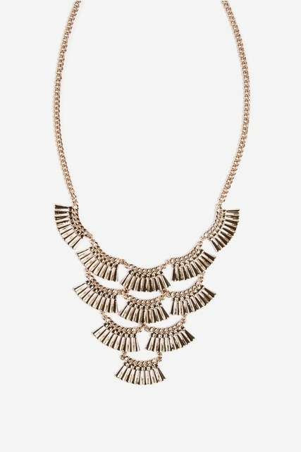 Fan Statement Necklace