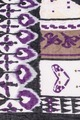 Purple Mural Scarf