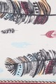 Feather Multi Color Scarf