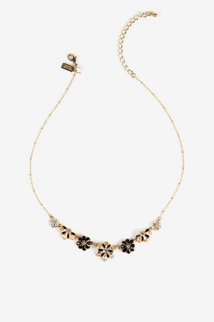 Shadow Blossoms Necklace