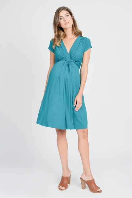 Front Knot Dress